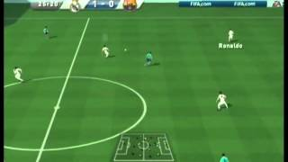 FIFA 11 (Wii) Gameplay: Real Madrid vs Barcelona | El Clásico