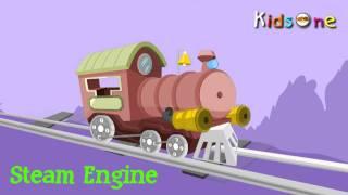 Transports for Kids 2D Animation Rhymes For Children - KidsOne