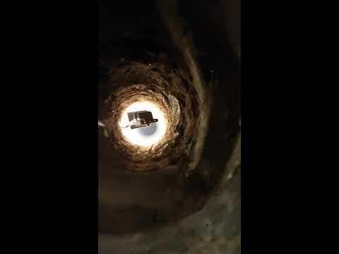 Brunnenbohren, Bohrbrunnen, Stein Im Weg, Rohrbombe, Ramme, Fallmeißel, Beton, Gewicht,