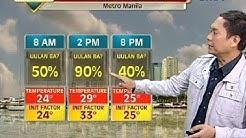 UH: Makulimlim at maulang panahon, asahan ngayong Martes sa Metro Manila