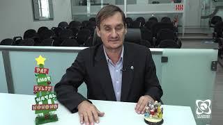 """""""Feliz 2020, repleto de paz, saúde e felicidade"""", mensagem do vereador Carlos Trigo"""