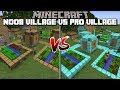 Minecraft NOOB VILLAGE VS PRO VILLAGE MOD / FIND OUT WHAT VILLAGERS PREFER !! Minecraft