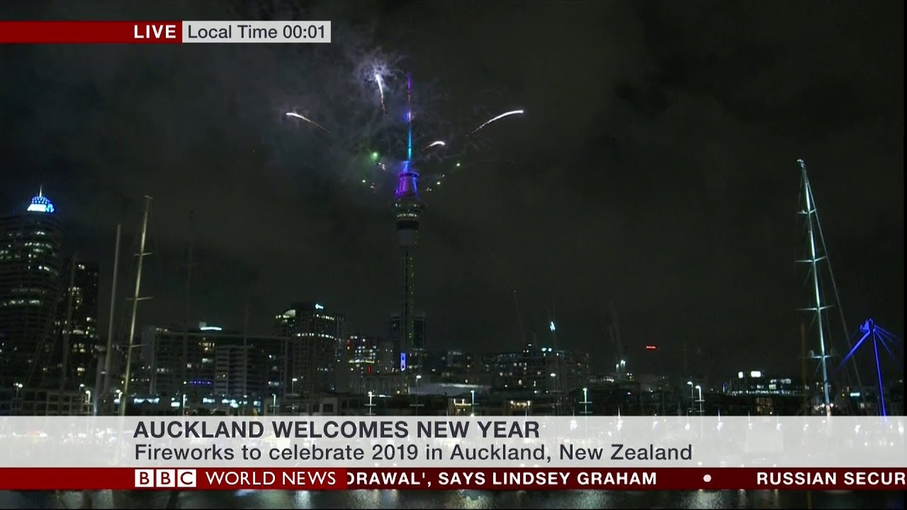Bbc World News New Year 2019 Live Coverage Part 1 Hd