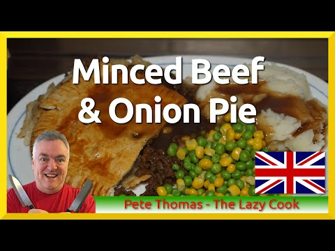 Minced Beef and Onion Pie - Ground Beef Pie