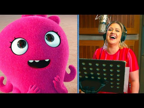 Ashley King - In studio with Blake Shelton recording the voice for UglyDolls character