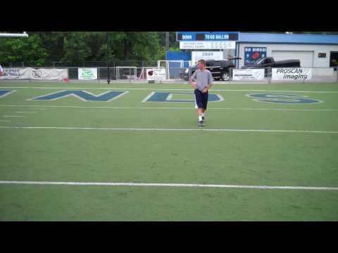 Bubby Brister (14) Quarterback Training Video