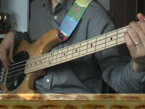 Bass cover for Breakthru - QUEEN