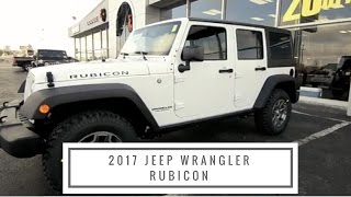 2017 Jeep Wrangler Rubicon test-drive at Anderson CDJR in Rockford, IL