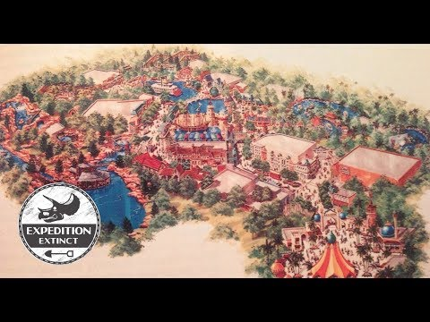 The History of MGM Grand Adventures Theme Park | Expedition Extinct