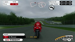 MotoGP 08 PS2 Gameplay HD (PCSX2)