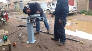 Roladoras de tubos manual con una fuerza para cañería 2