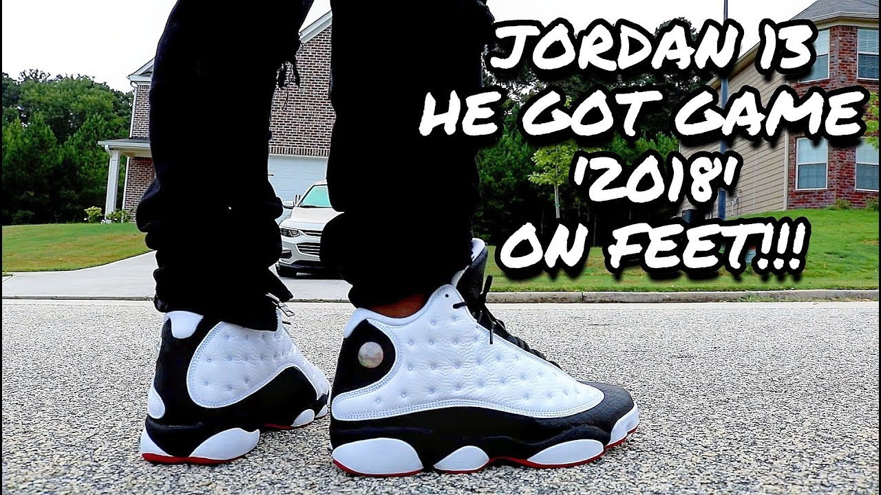 Jordan 13 He Got Game 2018 On Feet Youtube