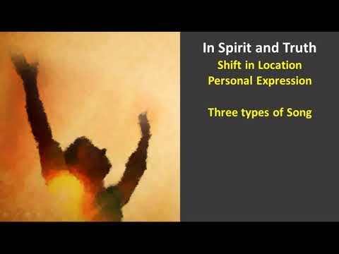 Developing Intimacy in Worship
