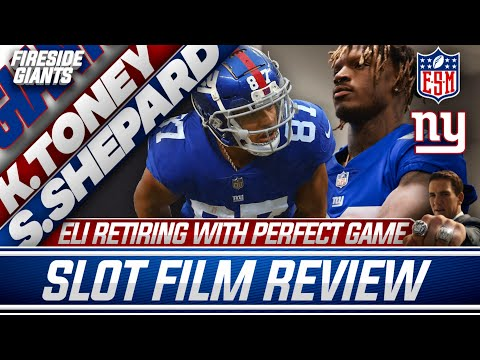 Kadarius Toney And Sterling Shepard Film Review   Eli Manning Jersey Retirement   New York Giants
