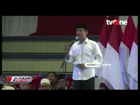 Orasi Jokowi Pada Kampanye Terbuka Pilpres Di Serang, Banten