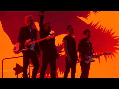 U2 Where The Streets Have No Name, Paris 20170726  U2gigscom
