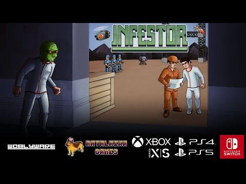 Diventati alieni con Infestor, disponibile su PlayStation