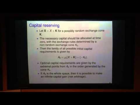 Ilya Molchanov: Random sets in economics, finance and insurance