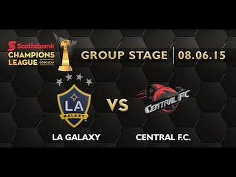LA Galaxy vs Central FC 5-1 2015 Full Match,  CONCACAF Champions League