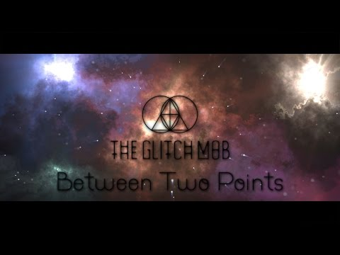 The Glitch Mob (feat.  Swan) - Between Two Points (Lyric Video)(4K)