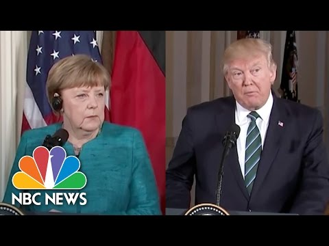Thumbnail: President Trump Reiterates 'Strong Support For NATO' to Germany's Angela Merkel | NBC News