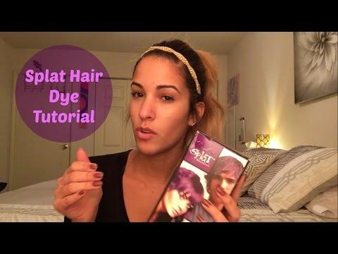 SPLAT hair dye tutorial | Lusty lavender