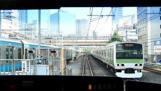 【4K60fps前面展望】山手線外回り 一周 池袋~池袋 Yamanote Line cab view