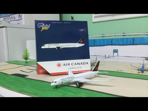 Unboxing And Review of the Gemini Jets air canada 787-8