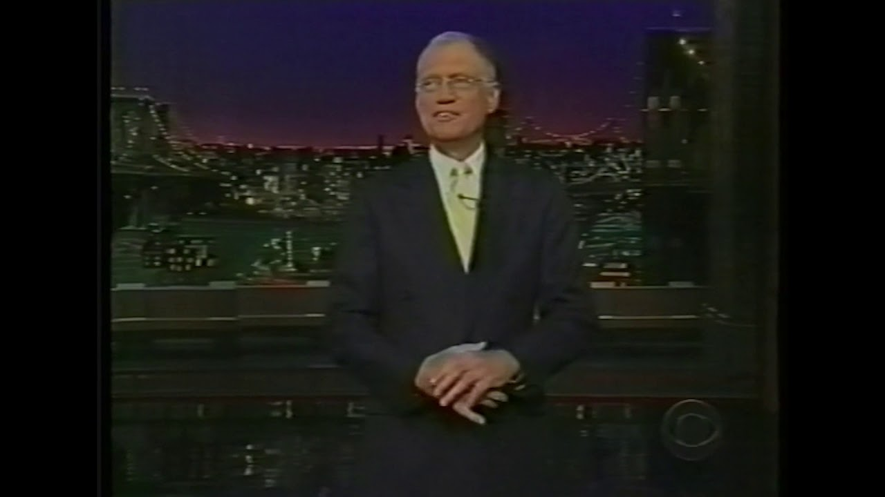 David Letterman talks about Log Cabin Republicans
