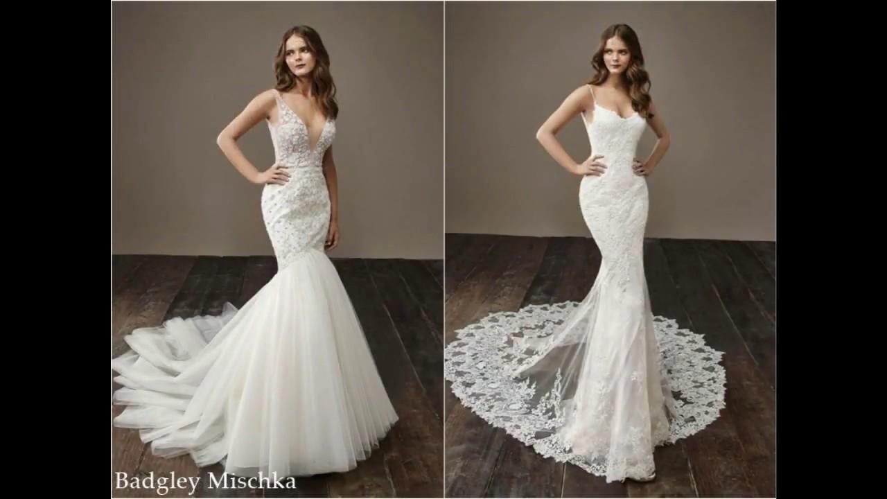 Модные свадебные платья 2018-2019 - YouTube