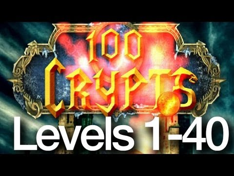 100 Crypts Levels 1-40 Walkthrough All Levels
