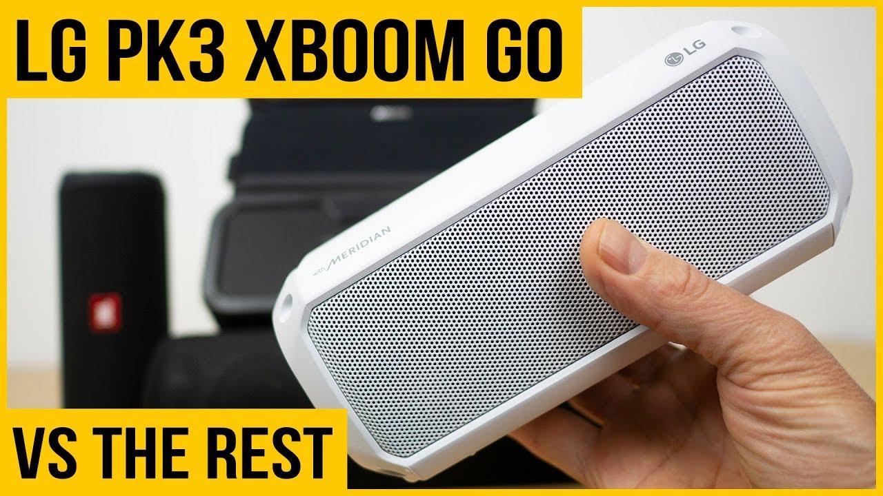 Download LG XBOOM Go PK3 review | Best budget Bluetooth speaker in 2019? |  vs JBL Flip 4, Anker, Tribit ...