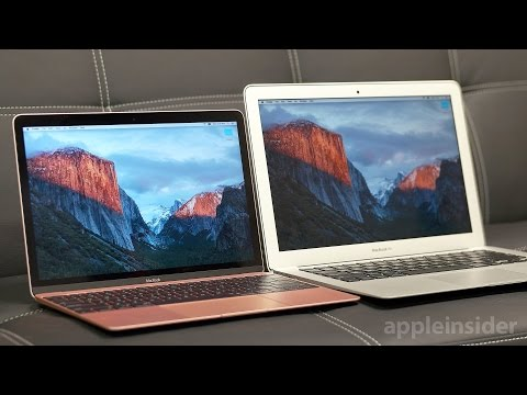 "Apple 2016 MacBook vs. 2015 13"" MacBook Air"
