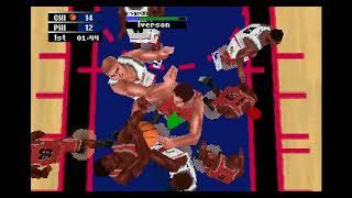 NBA Action 98 SEGA Saturn 1997