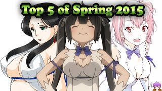 Top 5 Anime of Spring 2015