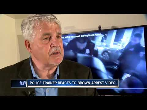 Police instructor analyzes Sterling Brown taser video