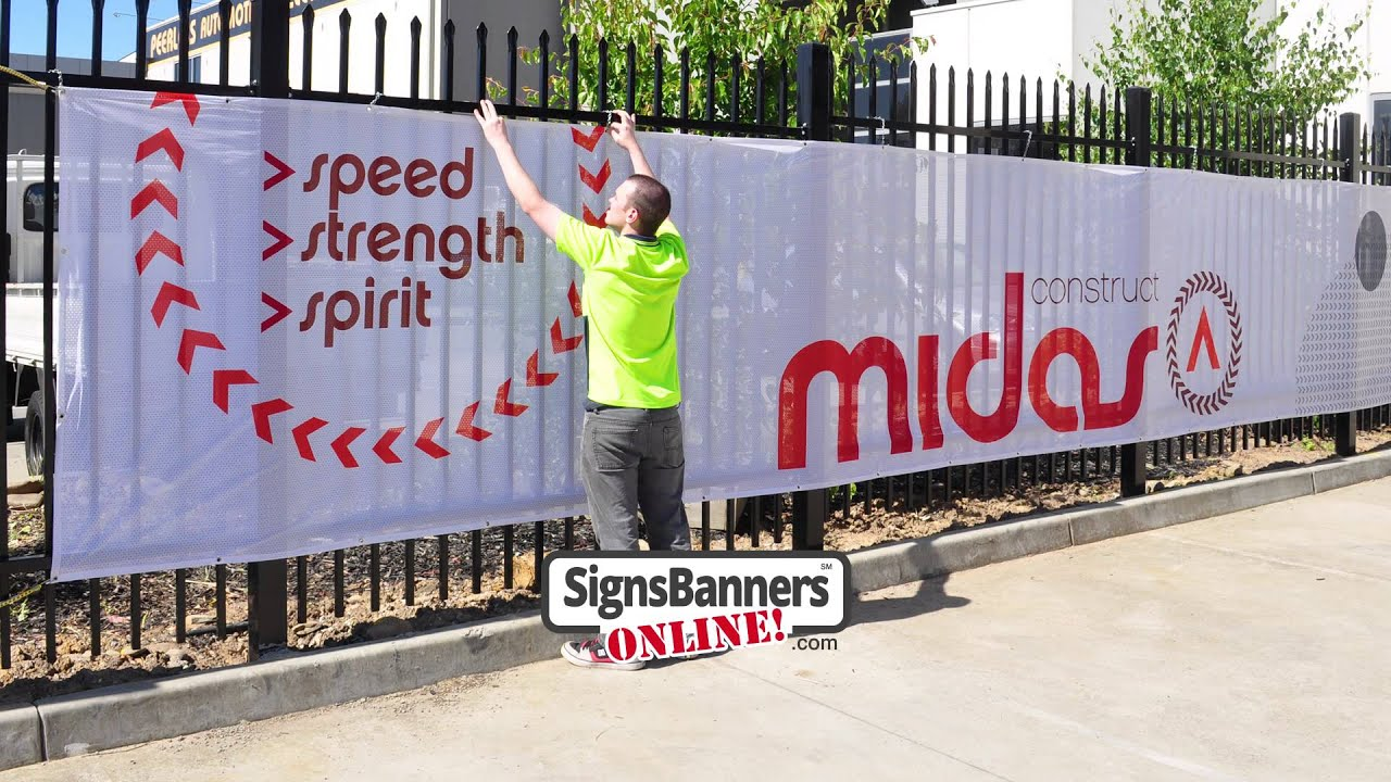 printed screens as usedcontractors construction & fence
