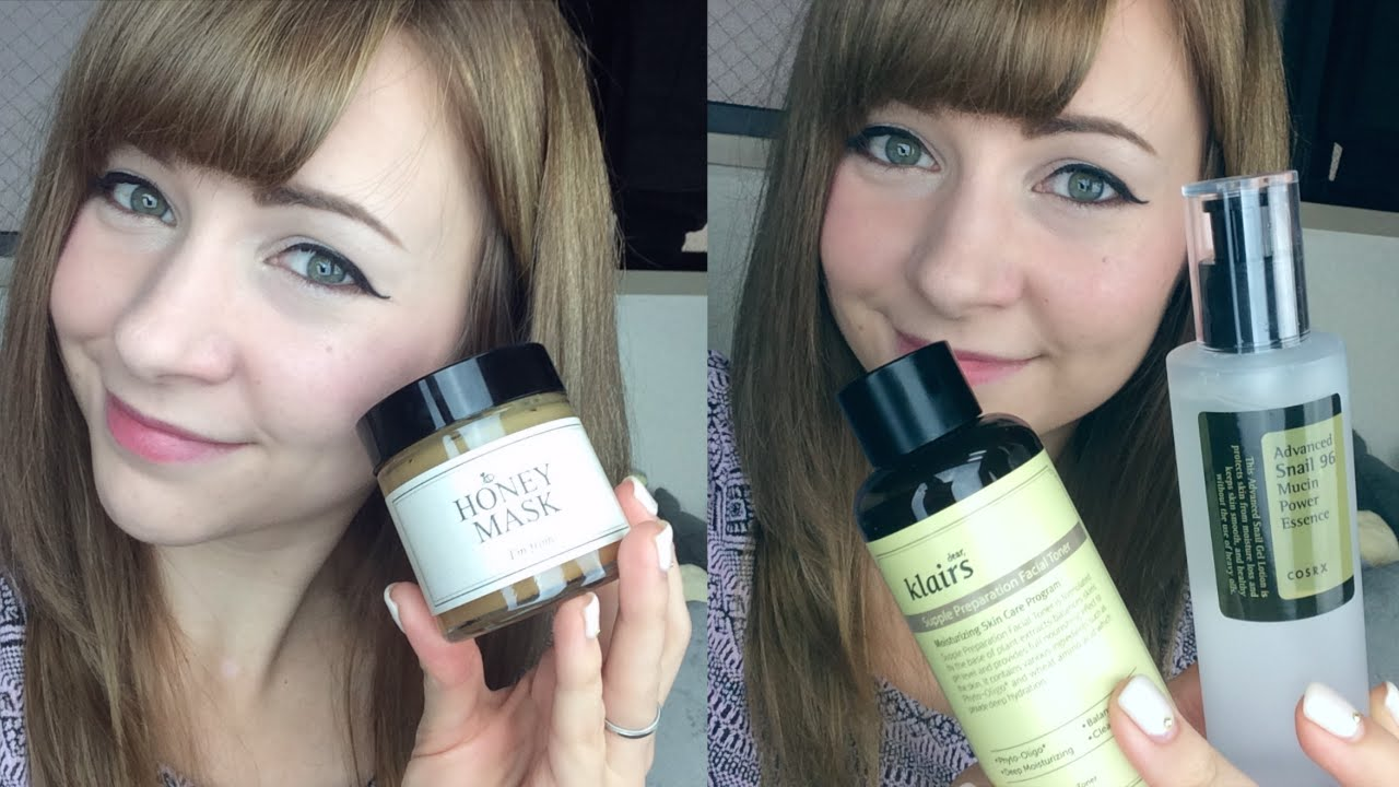 FAVE Korean Skin Care Products! ♥︎ Honey Mask, Snail Essence & More!
