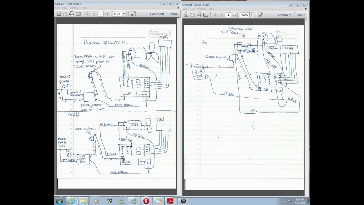 Furnace Fan Relay Wiring Diagram Detailed Schematic Diagrams Hvac Temporary Bypass On Air Handler For Switch