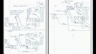 HVAC temporary relay bypass diagram on air handler / furnace for COOLING ONLY!