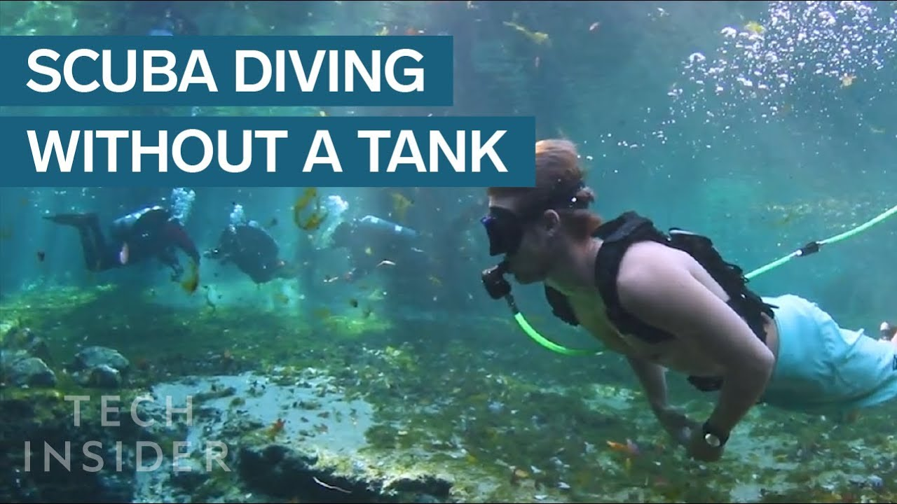 This Ultra-Light Diving System Makes Scuba Accessible To Anyone