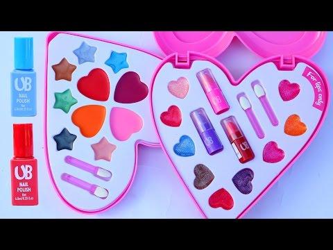 Deluxe Makeup Cosmetic Set Glitter Lip Balm Nail Polish Lip Gloss Unique Boutique