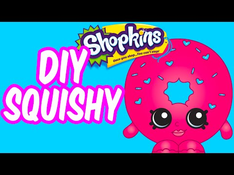 Shopkins Diy Squishy How To Make Cool Cube Crafts By K
