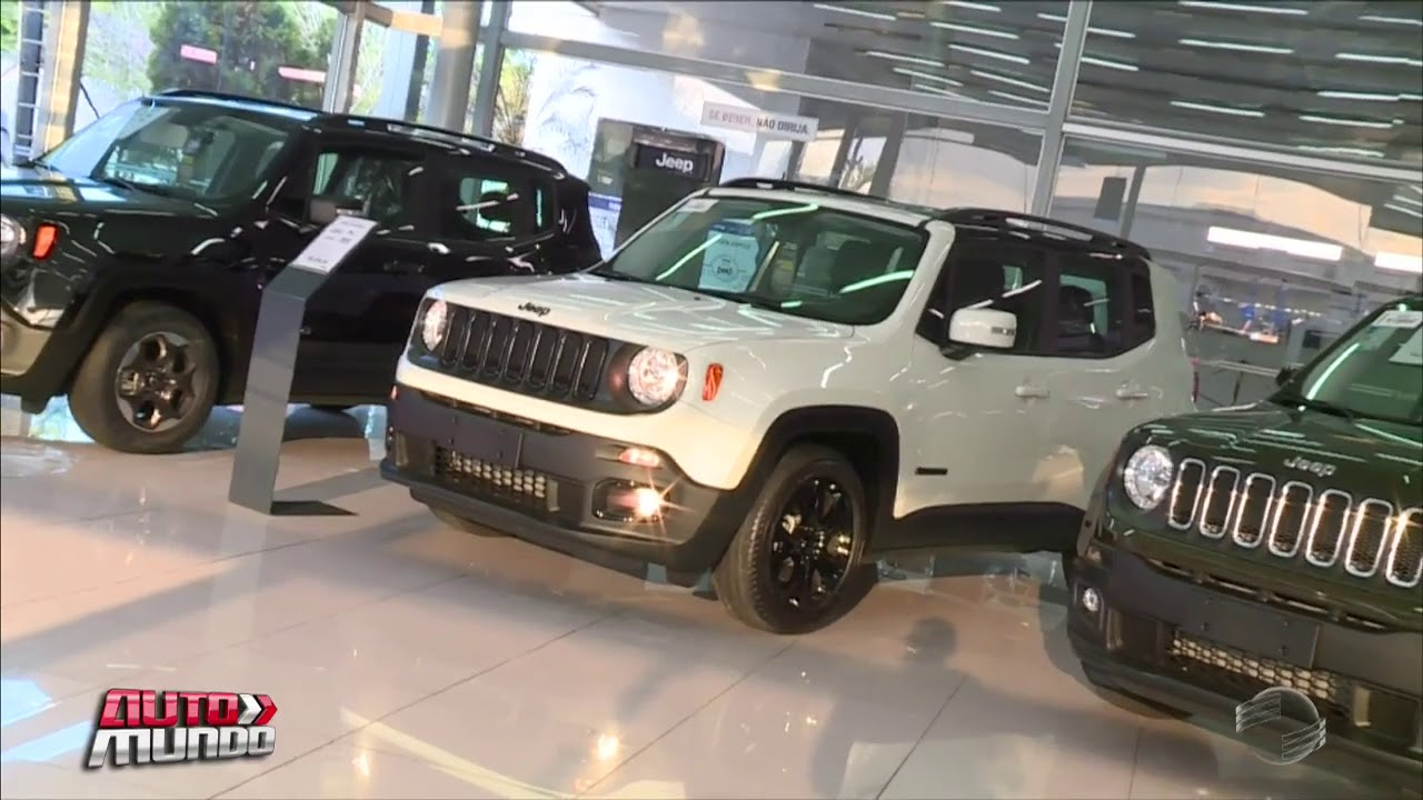 novo jeep 2018. beautiful jeep jeep lana linha 2018 do renegade equipada com 4x4 for novo jeep
