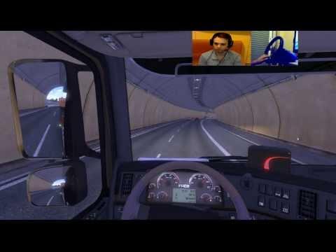 Euro Truck Simulator 2 - Gameplay Ita 2 Webcam - Viaggio Da Italia Per Il Belgio