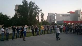 Лезгинка. Парк Дружбы Волгоград-Баку. 10.05.16