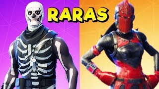 5 RAREST FORTNITE SKINS #1