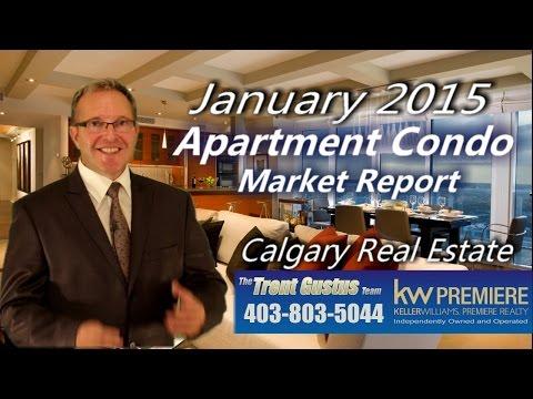 Calgary Apartment Condo Report January 2015