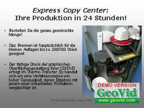 Manufacturing of CDs and DVDs