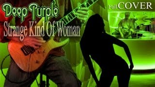 STRANGE KIND OF WOMAN - DEEP PURPLE COVER